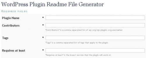 readmefilegenerator