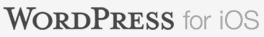WordPress for iOS Banner