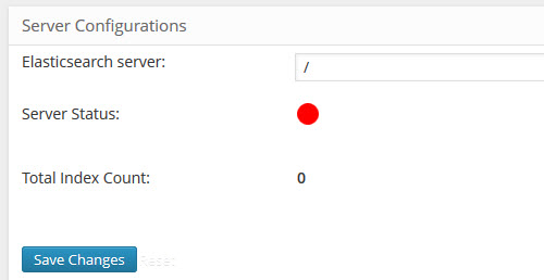 Elastic Search Configuration