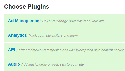 Choosing WordPress Plugins