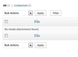 No Media Attachments