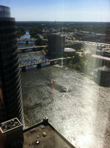 View From The Amway Grand