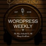 WordPress Weekly Cover Art