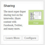 Jetpack Sharing module
