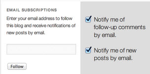Jetpack Email Subscriptions