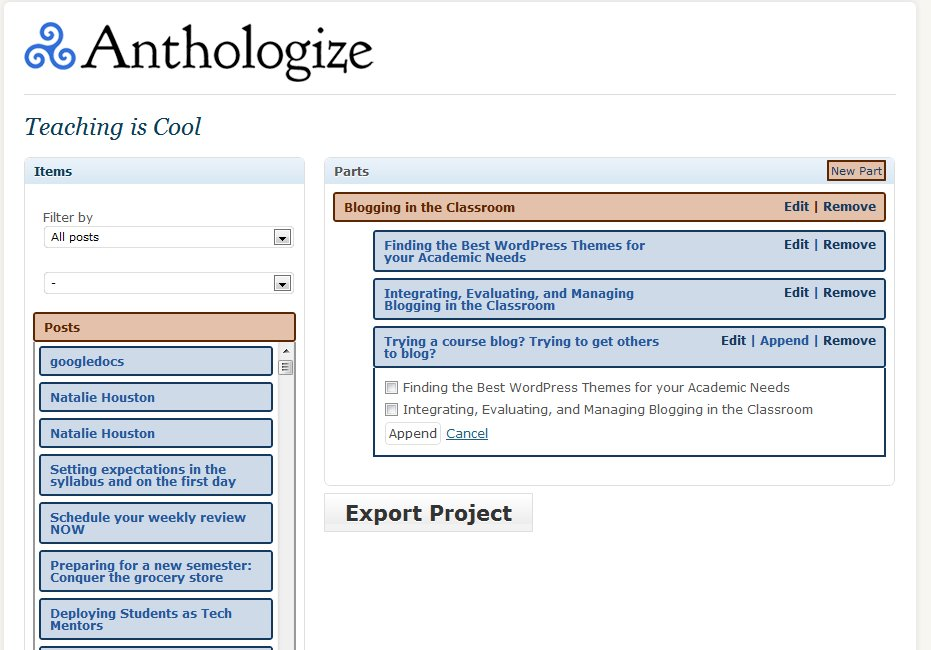 anthologize