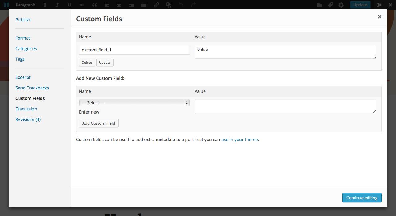 custom-fields