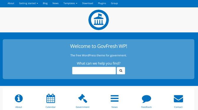 GovFresh WP: A Free WordPress Theme For Governments