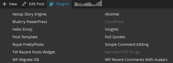 Plugin Toggle