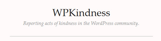 WP Kindness Logo