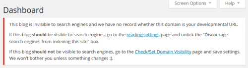 Warning Seen If You Forget To Enable Search Engines