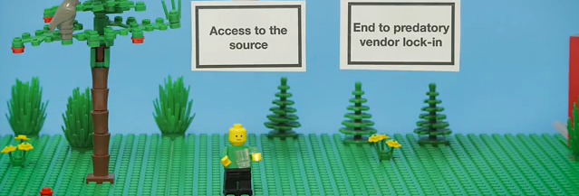 Open Source Explained By Legos