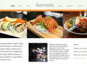 Restaurant Inspired Theme By DevPress - Ravintola