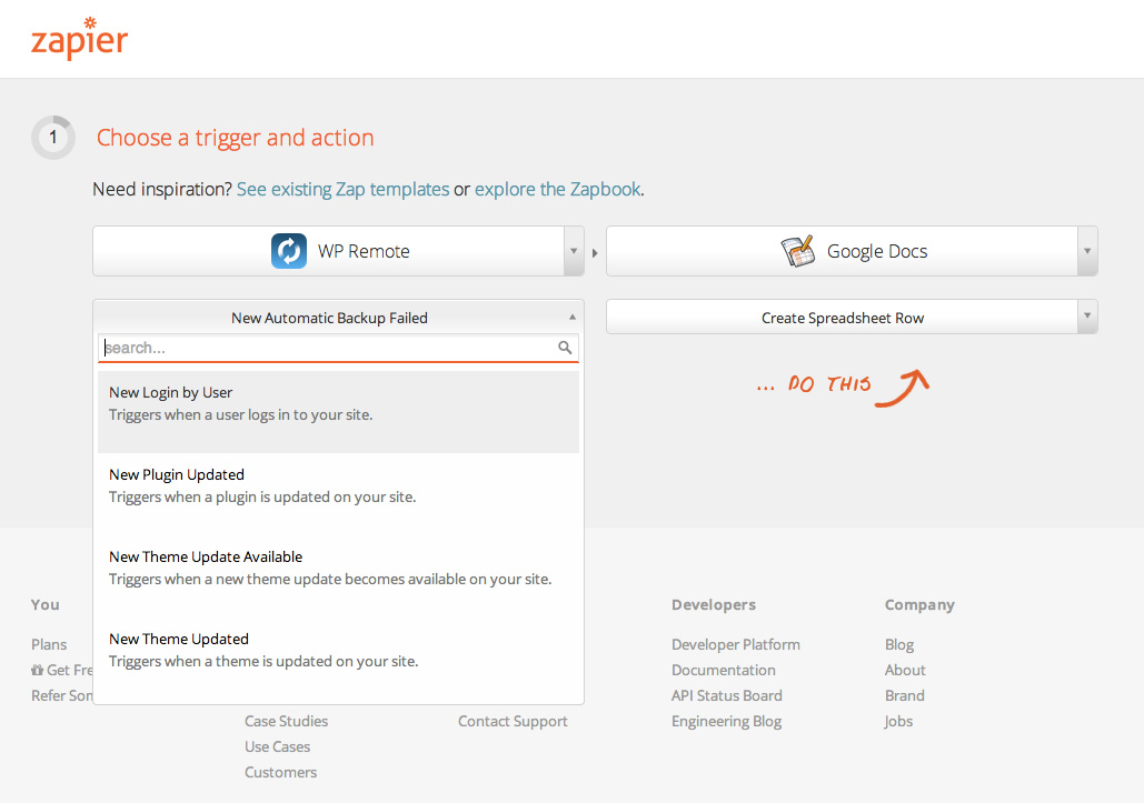 Creating Audit Logs With WPRemote and Zapier