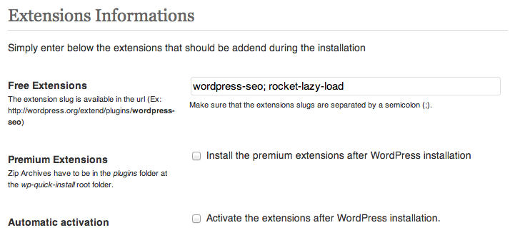 extensions-information