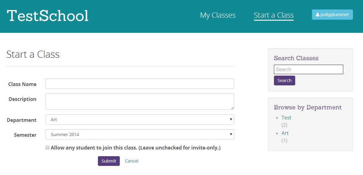 start-class