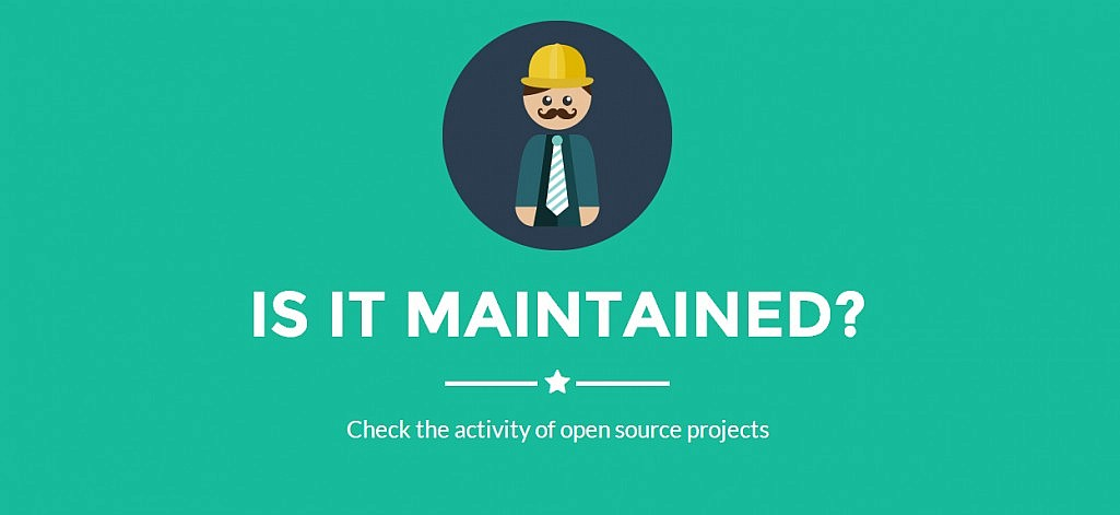 Is It Maintained? Web App Monitors the Activity of Open Source Projects