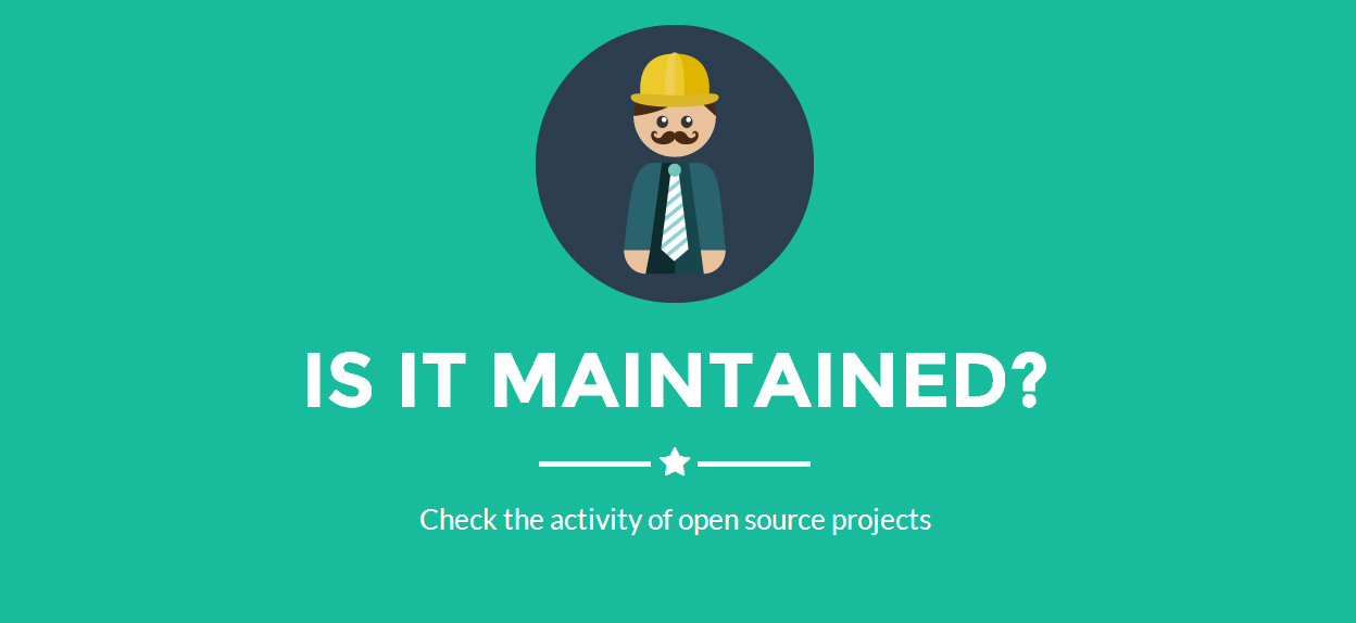 isitmaintained