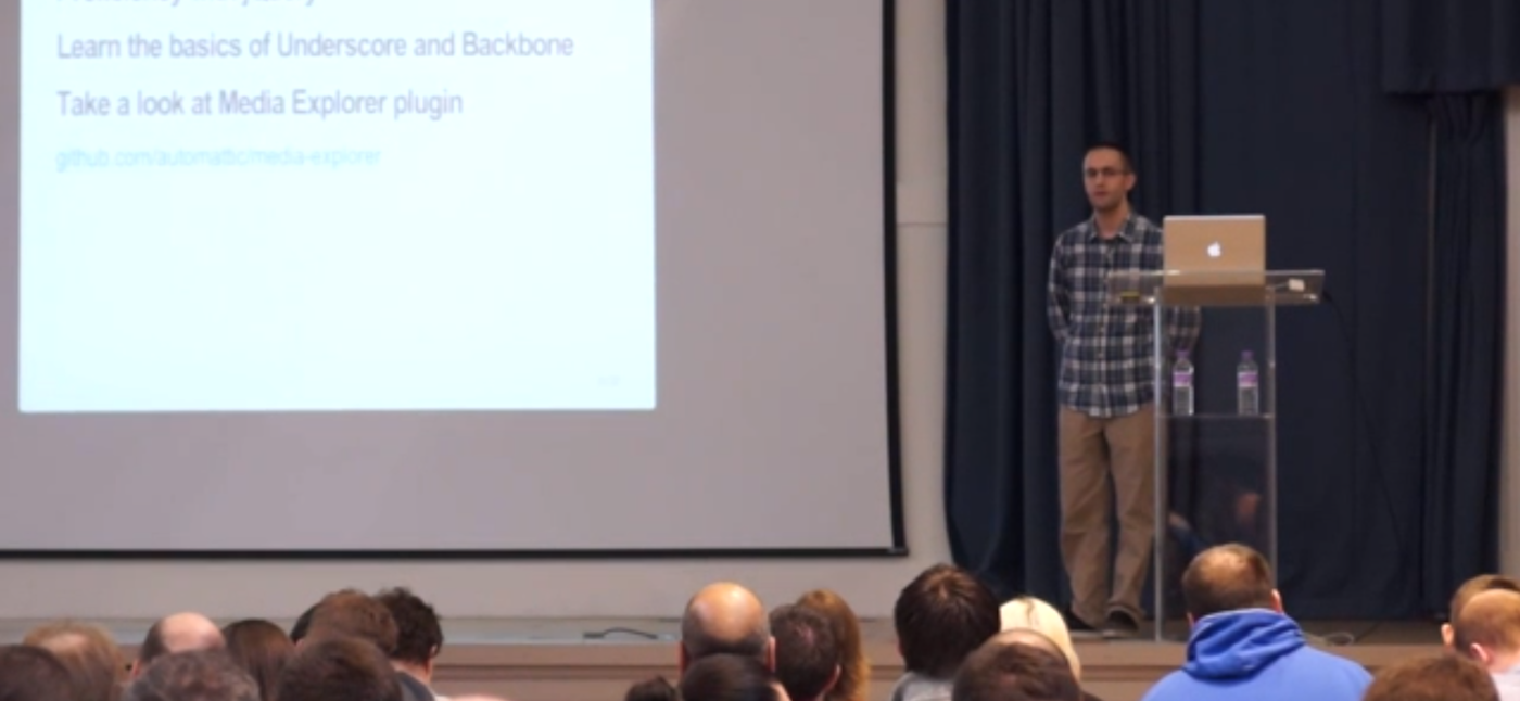 John Blackbourn speaking at WordCamp London 2013 - WordPress.tv