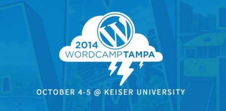 WordCamp Tampa 2014 Header