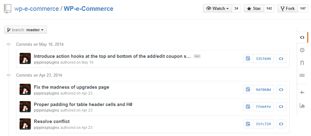 Pippin Williamson of EDD With 45 Commits to WP eCommerce