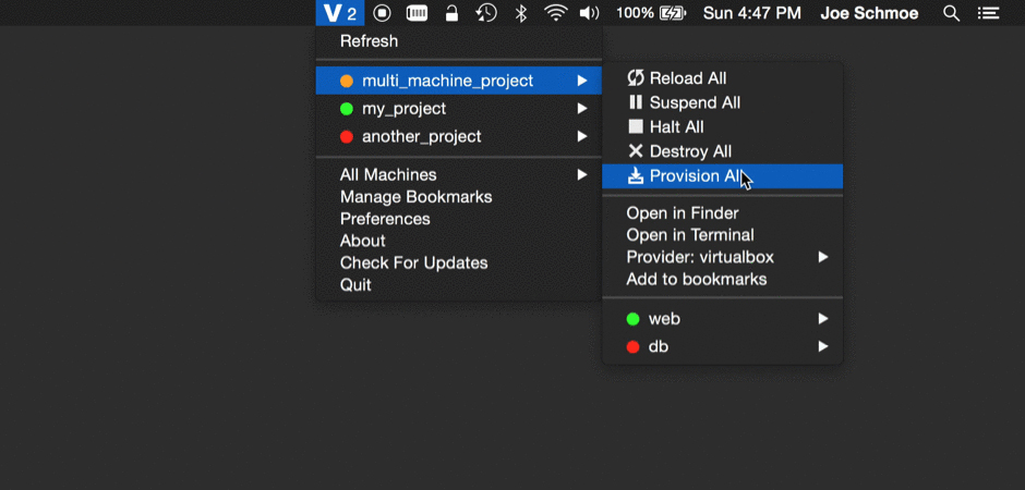 Vagrant Manager for OS X: Manage All Your Vagrant Machines from One Place