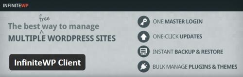 InfiniteWP Banner Header