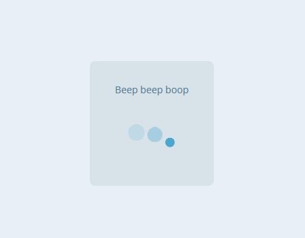 Beep Beep Boop