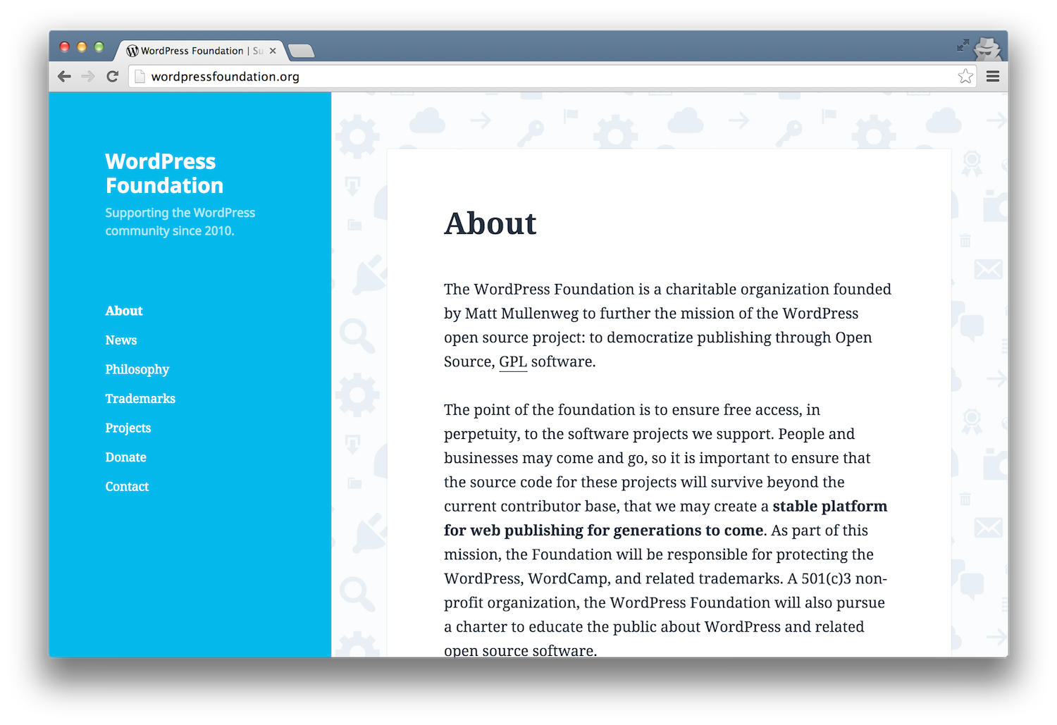 wordpress-foundation