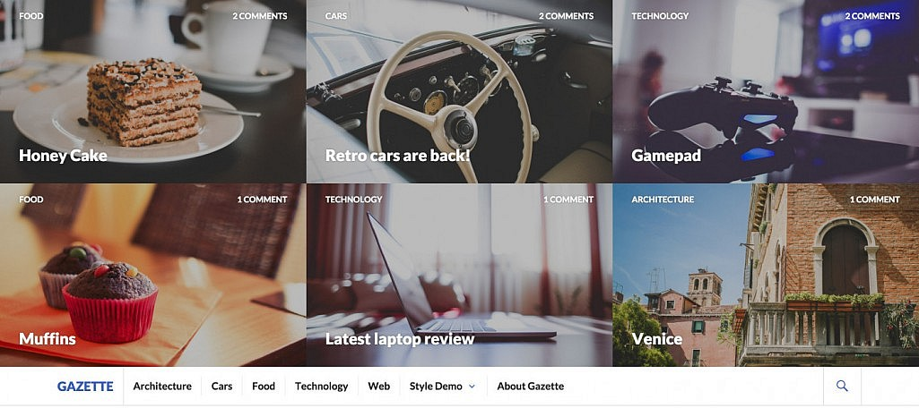 Gazette: A Free WordPress Magazine Theme from Automattic