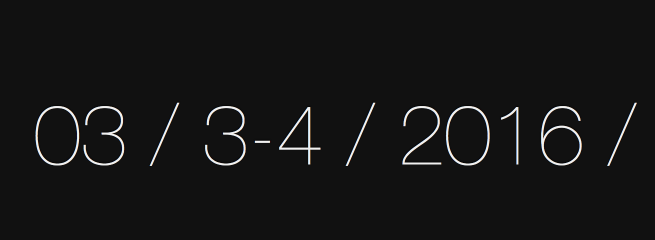 Date for Pressomics 4
