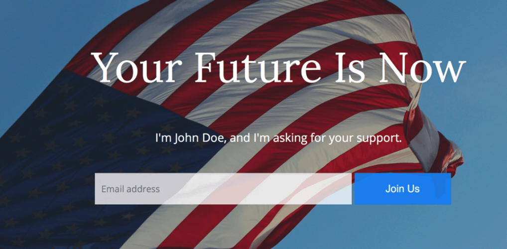 Politics: A Free WordPress Theme for Political Campaigns