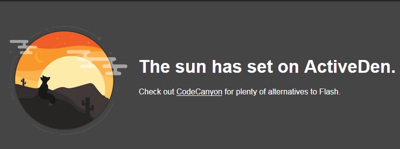 ActiveDen Shuts Down