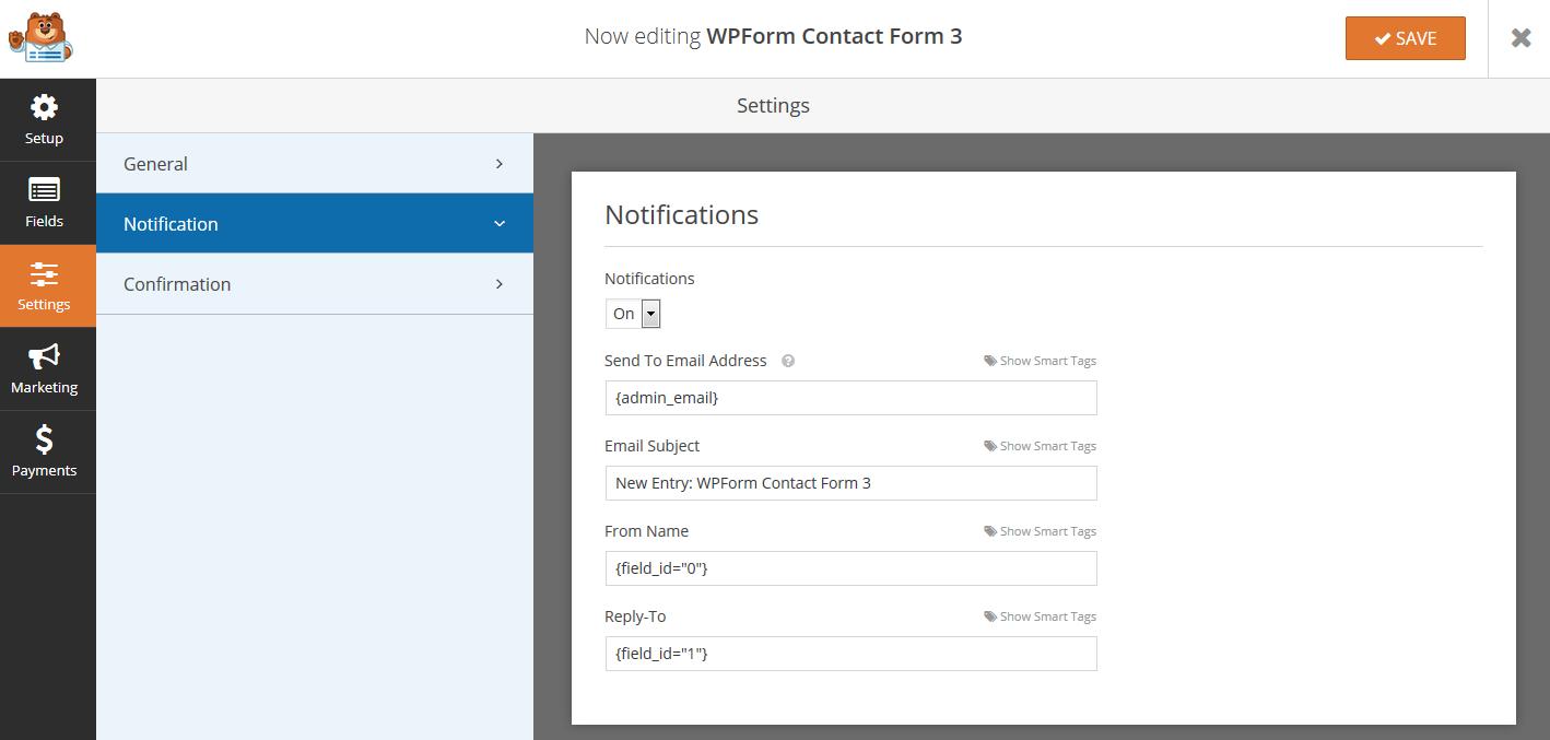 WPForm Smart Tags