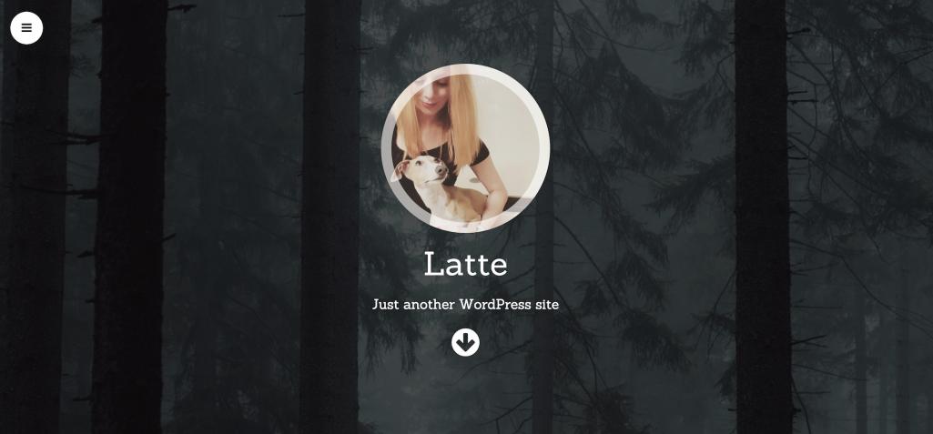 Latte: A Free One-Page WordPress Theme to Showcase Your Profile
