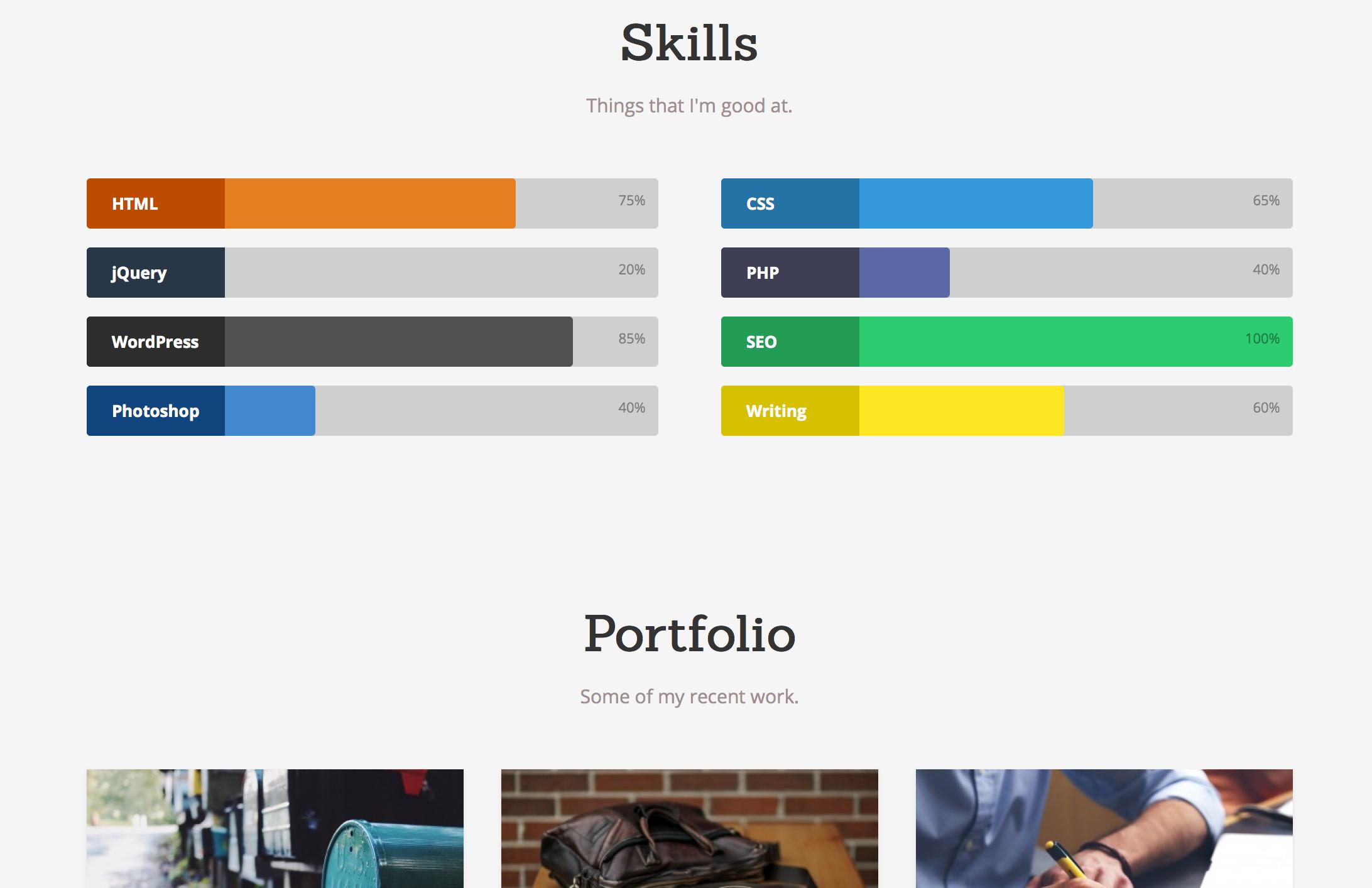 skills-portfolio