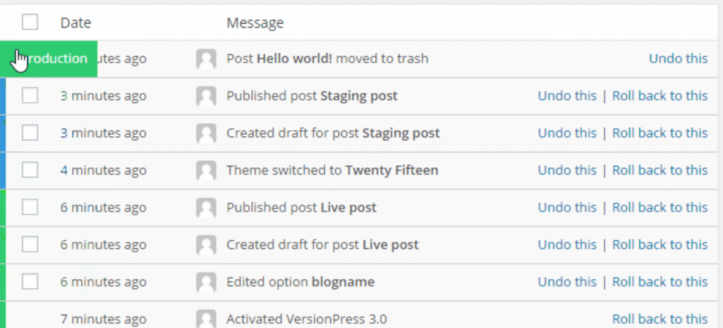 VersionPress 3.0 Adds New Search Feature, Bulk Undo, and Commit Tracking per Environment
