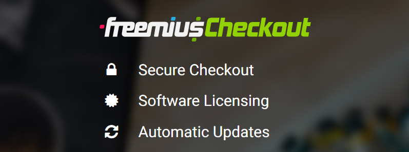 Freemius Checkout Featured Image