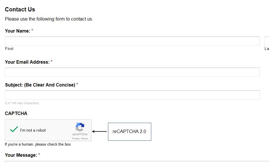 reCAPTCHA 2.0 Support in GravityForms 2.0