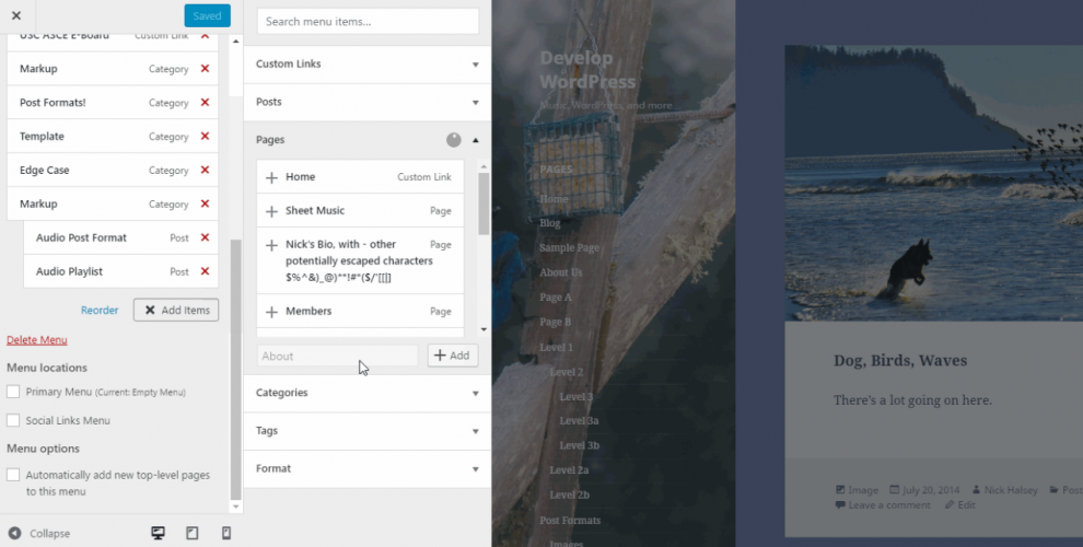 New WordPress Feature Proposal Adds Content Authorship to Menus in the Customizer