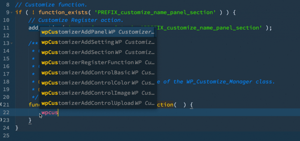 Ahmad Awais Releases WordPress Customizer Package for Sublime Text