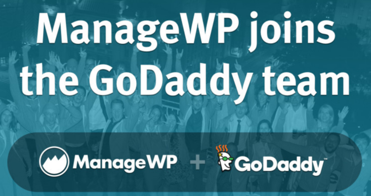 GoDaddy Acquires ManageWP