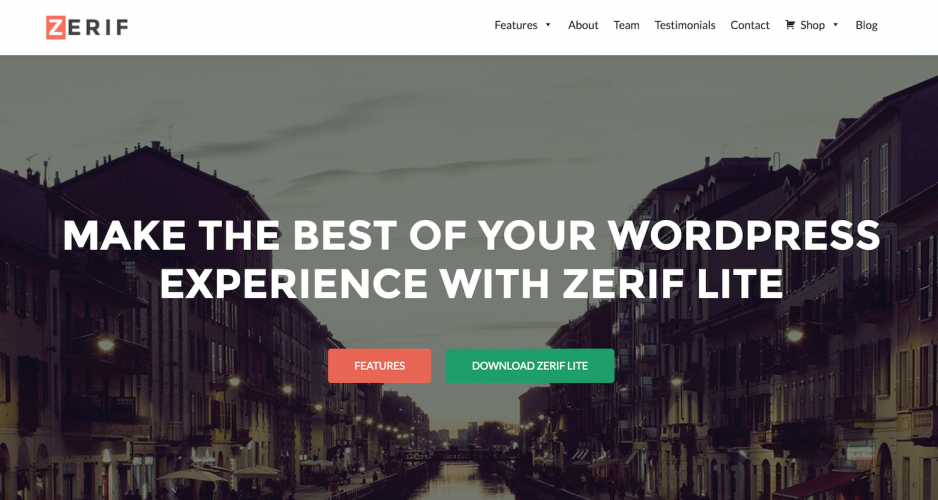 Zerif Lite Suspended from WordPress Theme Directory, 300K Users Left Without Updates