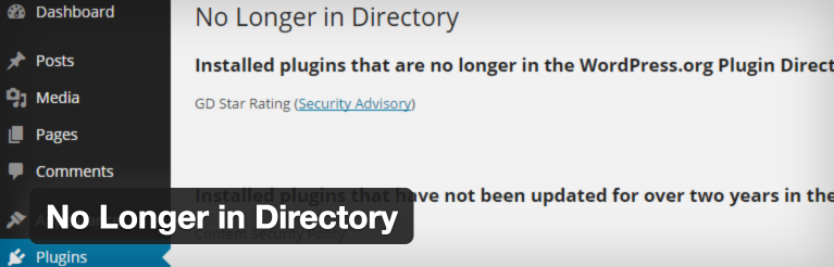 No Longer In Directory Plugin Featured Image
