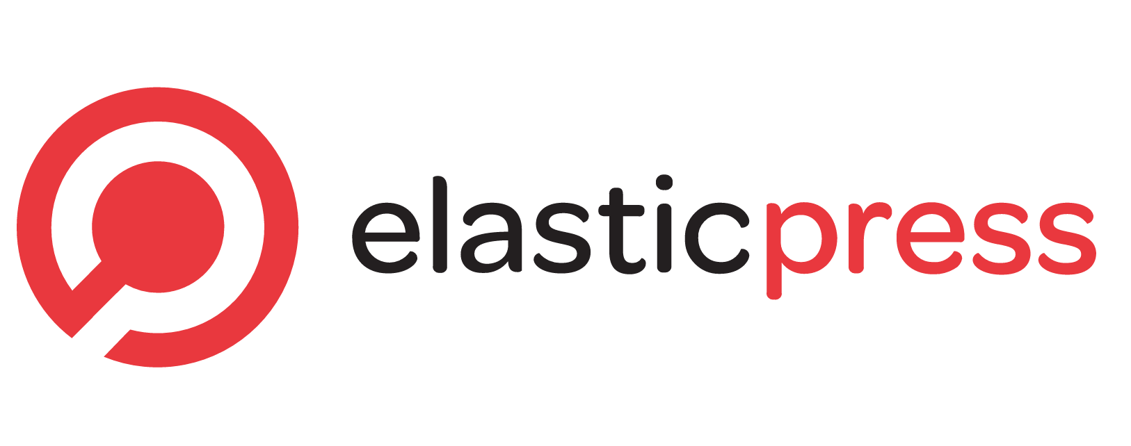 Elastic press logo