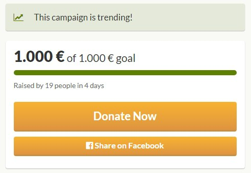 DonateWC Reaches Fundraising Goal