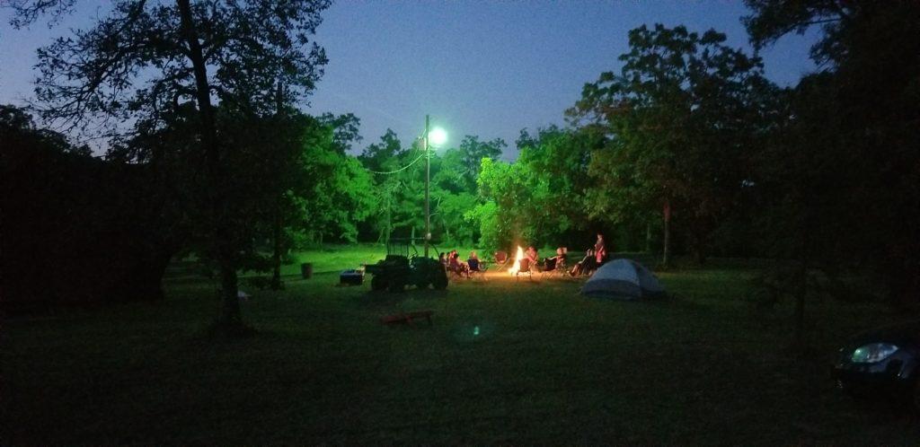 Camp Press Fire