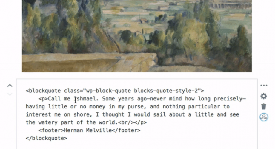 Gutenberg 1.4 Adds HTML Mode for Blocks