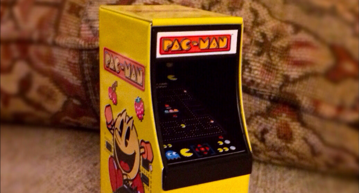 Mini Pac Man Arcade Machine