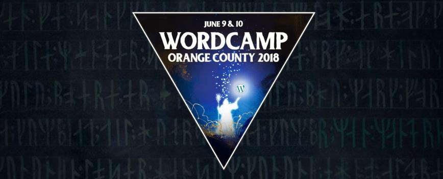 WordCamp Organge County 2018 Logo